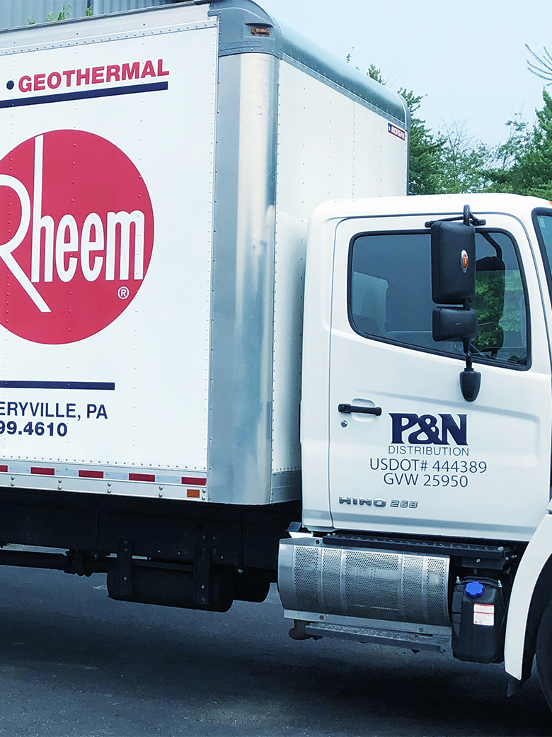 P&N Distribution Truck