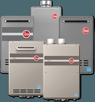 Rheem Tankless Water Heaters